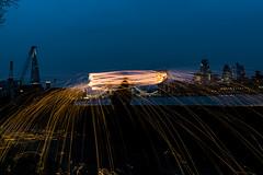 180407 6359 (steeljam) Tags: steeljam lightpainters bermondsey wire wool spinning thamse london