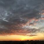 Sunset over my town, São Caetano do Sul, SP, Brazil. thumbnail