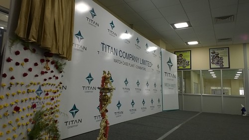 "Titan Watch Factory Press Meet • <a style=""font-size:0.8em;"" href=""http://www.flickr.com/photos/155136865@N08/41492701411/"" target=""_blank"">View on Flickr</a>"