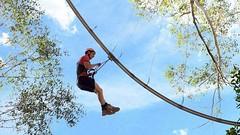 It's a Rollercoaster? It's a Zipline? No it's a new breed of ride: The #Rollercoaster #Zipline #zipcoaster http://j.mp/1NUI4yw (Skywalker Adventure Builders) Tags: high ropes course zipline zipwire construction design klimpark klimbos hochseilgarten waldseilpark skywalker