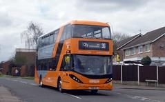 444 (timothyr673) Tags: nctroute36 e400 adl dennis alexanderdennis alexander orange orangeline go2orange nottinghamcitytransport nct bus chilwell n280ud e400city enviro400city enviro400 n230ud