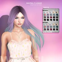 Mayra Lunar pack Relay For Life (Wasabi // Hair Store) Tags: wasabipills 3d mesh hair secondlife imeka teefy izzies maitreya catwa insol kibitz buzzeri