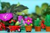 A spot of gardening (Frost Bricks) Tags: lego flowerpot girl cmf series 18 minifigure