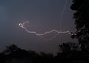 early evening storm 21/30 (sure2talk) Tags: earlyeveningstorm lightning forkedlightning storm evening outofthestudywindow nikond7000 nikkor1855mmf3556afs