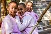 Girls in a monastery (Mevout) Tags: girls niña fille monastery monk monasterio monastere smile sourire sonrisa children juventud curiosidad curiosity education educacion smart inteligente