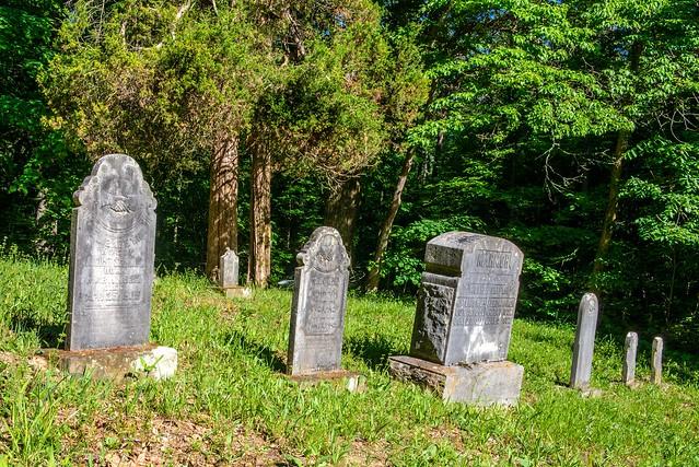 Hoosier National Forest - German Ridge Cemetery - May 24, 2018