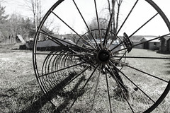 Days passed (Nicolas Bussieres (Lost Geckos)) Tags: farm old antique vintage equipment