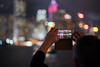 Hong Kong Skyline (Bastian.K) Tags: hongkong skyline bokeh cellphone smartphone handy zeiss loxia 85 loxia2485 loxia8524