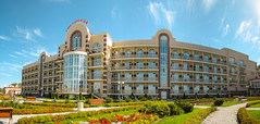 *** (i13rbk) Tags: fareast khabarovsk zaimka hotel park amur river shore sunlight building