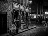 Take a Rest! (HeinzDS) Tags: quays temple bar dublin night black white street