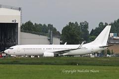 B737-8F2 EI-GGF to be 9H-TJA all white (shanairpic) Tags: jetairliner passengerjet b737 boeing737 shannon irish corendon tcjgo eiggf 9htja
