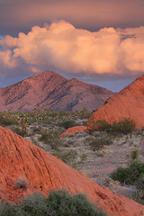 2018_03_14_7372-PS (DA Edwards) Tags: southern nevada gold butte national monument sunset redrock mojave desert rock outcrop clouds color da edwards photography winter 2018