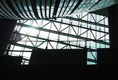Lighting through (Eshke04) Tags: light reflection lines curves windows ceiling contrast monotone monochrome flow leading architecture shadow