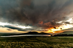 Sunset Over Spelga Dam (Jeremy Gadd) Tags: ulster countydown slieve croob slievecroob beautifulearth northernireland spelgadam landscape landscapephotography irishlandscapes