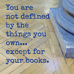 Choose your books carefully... (teresue) Tags: 2017 uk england merseyside liverpool liverpoolcentrallibrary williambrownstreet hornbylibrary hardwoodfloor quote quotation words wordstoliveby books