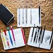 Best mechanical pencils clipped to notebooks