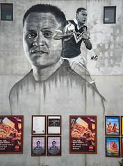 David Kidwell Mural (Jocey K) Tags: davidkidwellmural artistgrahamhoetemrg newzealand nikond750 christchurch wall building cbd mural streetart artwork