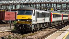 90013 (JOHN BRACE) Tags: 1988 brel crewe built class 90 bo electric loco 90013 seen stratford abellio greater anglia livery