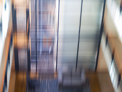 From the lift (alanrharris53) Tags: olympus zagreb croatia abstract colour lift elevator view hotel