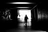Approaching the light (pascalcolin1) Tags: paris13 femme woman lumière light ombres shadows canne cane sac bag old vieille photoderue streetview urbanarte noiretblanc blackandwhite photopascalcolin 5omm canon50mm canon