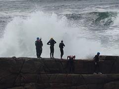 It's behind you (gareth888) Tags: sea mullaghmore coasteering sligo ireland wildatlanticway