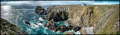 Bretagne - Finistère - Pointe du Van (denisbrumaud) Tags: bretagne finistère pointeduvan capsizun chapellesaintthey saintthey panorama panoramique denisbrumaud