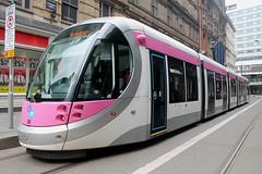 Midland Metro: 29 Grand Central (emdjt42) Tags: midlandmetro 29 caf tram birmingham grandcentral