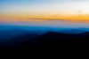 Serene sunset (jack.swinkels) Tags: sunset nature sun light colour colours colourful yellow orange blue white landscape scenery view sky land trees forest sequoia outdoors evening dusk twilight clouds