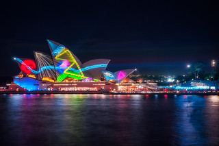 Vivid Sydney new Projection Designs called