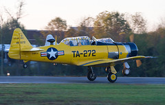 North American T-6G Texan N3167G (Vzlet) Tags: northamerican naa t6g texan n3167g t6 culpeper kcjr cjr