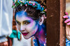 Blue and Pink Fairy (Kevin MG) Tags: irwindale renaissancefaire renaissance renfaire faire costumes outdoor people fairy