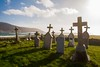 Cemetry (arnoutouthuis) Tags: isle barra scotland cemetery graveyard common wealth island ocean tombs arnout outhuis design photography nikon