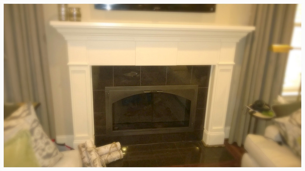 Design Specialties Carolina Arch Fireplace Door. Chattanooga, Tn.