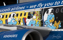 Brussels Airlines #SNSmurfs Event – Brussels Airport (BRU EBBR) – 2018 03 24 – 11 – Copyright © 2018 Ivan Coninx (Ivan Coninx Photography) Tags: ivanconinx ivanconinxphotography photography aviationphotography brusselsairport bru ebbr airbus airbusa320 airbusa320214 a320 a320214 brusselsairlines oosnd aviation aerosmurf snsmurfs