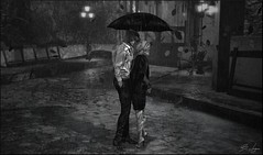 The Moment (Broderick Logan) Tags: second life secondlife sl avatar virtual 3d inworld vr mesh pose rain couple romance umbrella ksposes lauv lyrics moment kiss enaroane ena roane broderick logan brodericklogan