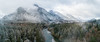 On High (John Westrock) Tags: landscape nature mountains winter northbend washington unitedstates us snow river trees forest clouds cloudy djimavicpro dronephotography washingtonstate pacificnorthwest