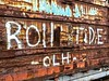 """Roll Tide II"" (Halvorsong) Tags: art composition color rust red oxidized oxidization rusty trains railroad industry industrial abandoned abandonedplaces weathered old oldschool football alabama crimson crimsontide thesouth graffiti tag urban city trainphotos life fun wow explore discover photography photosafari southern america americana paint wall iron steel metal"