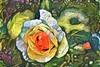Tapestry Peach Rose (GeminEye27) Tags: dreamscope rose secretgarden