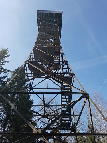 Der Turm Stäälibuck zwischen Frauenfeld und Thundorf
