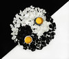Yin and yang (TribeChristal´s) Tags: food foodphotography stillphotography stilllife kitchen egg black white sony sonyalpha sonyilce sonyfe55mm sonyfe55mmza