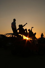 Selfies at Sunset (benjamin.t.kemp) Tags: selfie people sunset goldenhour sunflare desert buggy peru silhouette orange black adventure colour