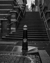 Pilgrim Street (Mike Hewson) Tags: street streetsoflondon stpauls bw blackandwhite blackwhite noiretblanc panasonic lumix gh5 micro43 microfourthirds mirrorless monochrome