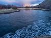 IMGP9761-Edit (Matt_Burt) Tags: bubbles clouds sunset swirl tomichicreek water