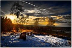 Bolterberg im Winter (Don111 Spangemacher) Tags: himmel heidekreis heide wolken winter schnee sonnenuntergang berge oberhaverbeck niederhaverbeck niedersachsen naturpark naturschutzgebiet norddeutschland reisen romantik urlaub farbenfroh