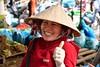 Thumbs up! - Smily girl in Sa Dec market by the Mekong River Delta, Vietnam. (One more shot Rog) Tags: saigon hochiminhcity market fruitandveg vietnam markets townmarket southeastasia hanoi sadec tabchau mekongdelta mekong mekongriver vietnamese nam vietnamesegirl vietnamgirls marketpeople sell selling stall conical
