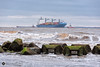 Songa Alya (alundisleyimages@gmail.com) Tags: songaalya ship shipping rivermersey tugs craft sailing maritime ports harbours shoreline weather seascape crosby liverpool newbrighton containers cargo export import goods seadefences waves breakers cranes algae nature merseyside outdoors