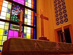 First Christian Church Window ..... (~ Cindy~) Tags: stainedglasswindowpane firstchristianchurch rockwood tennessee hww
