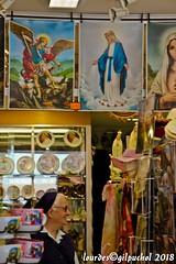 Lourdes 243-A (José María Gil Puchol) Tags: aquitaine basilique boutique catholique cathédrale cierge eaumiraculeuse fidèle france josémariagilpuchol lourdes paysbasque prière pélèrinage religion soeur
