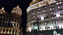 Cúpulas - Domes (Raúl Alejandro Rodríguez) Tags: edificios buildings arquitectura architecture noche night cúpulas domes iluminación lighting buenos aires argentina