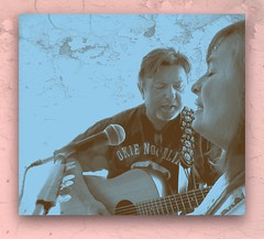 Okie Noodling (maj488/mike) Tags: pick strings martin sepia okie noodling art live song guitar married couple portrait